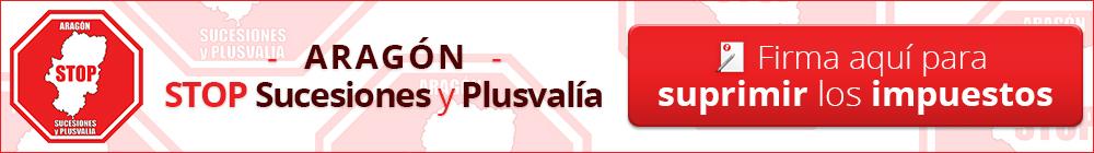Aragón Stop Sucesiones y Plusvalía