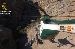 Rescate de la Guardia Civil en el Pirineo aragonés - Ministerio del Interior