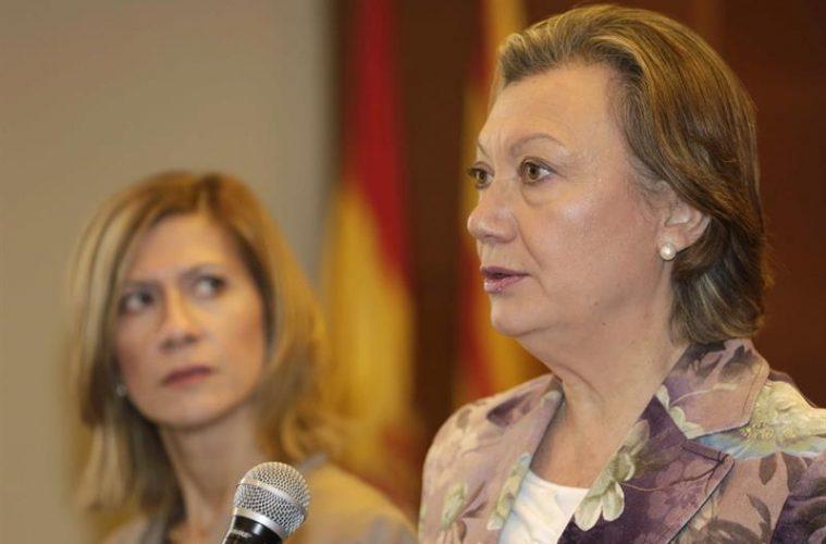Luisa Fernanda Rudi, en un acto reciente