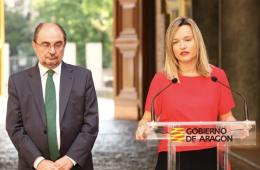 Pilar Alegria Javier Lamban candidata Zaragoza