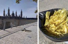 CDR lazos amarillos Zaragoza