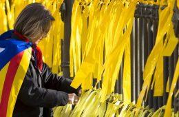 lazos amarillos CDR Aragon pueblos