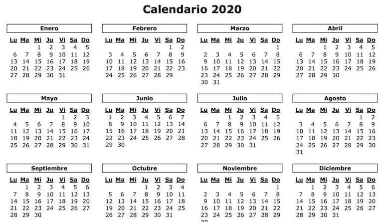 Calendario Zaragozano 2020.Cuantos Dias Festivos Hay En Aragon En El Ano 2020