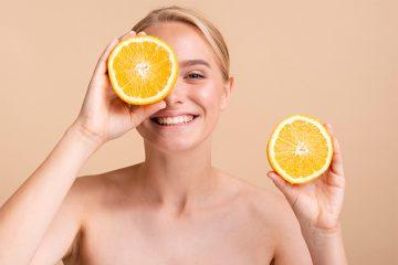 Tratamientos faciales con vitamina C