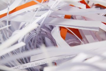 Destrucción de documentos para empresas
