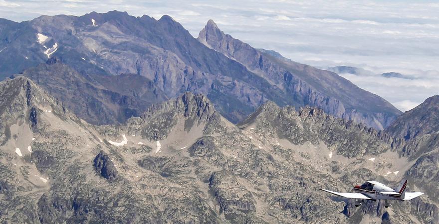 Volar en el Pirineo