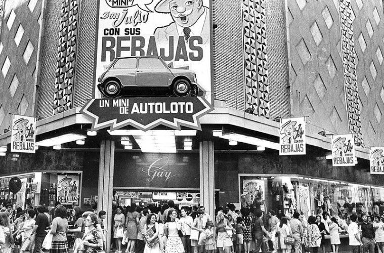 Grandes almacenes cerrados en Zaragoza