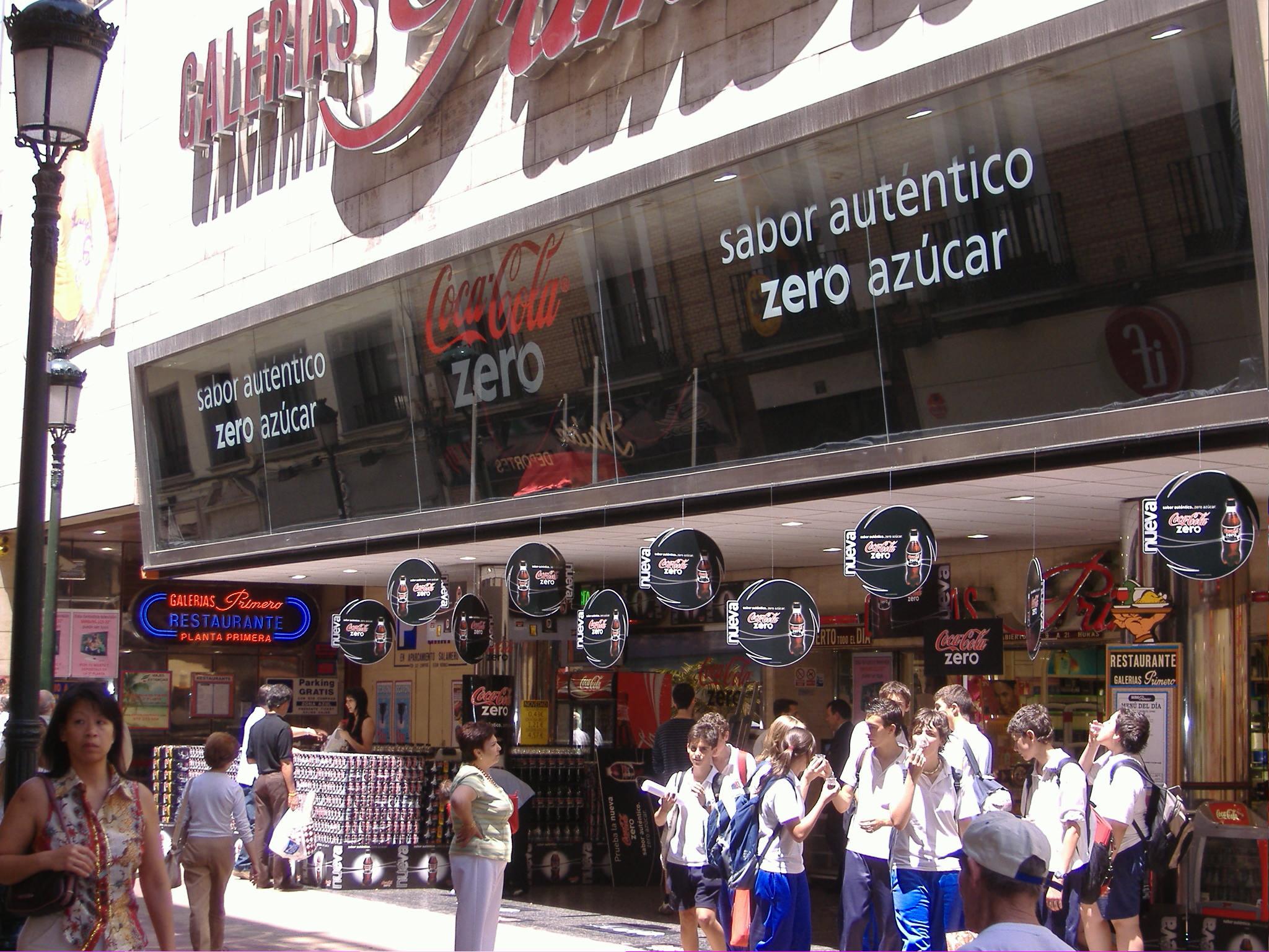 Grandes almacenes Zaragoza
