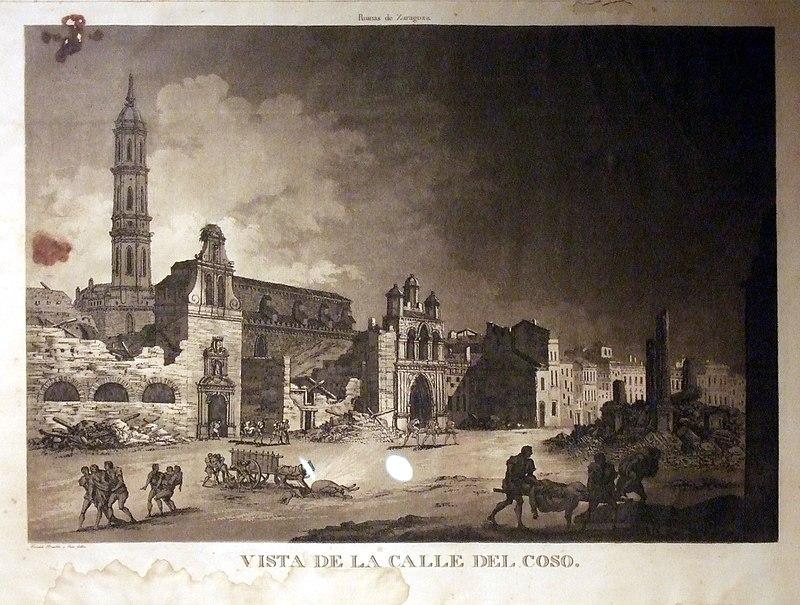 Edificios desaparecidos Zaragoza