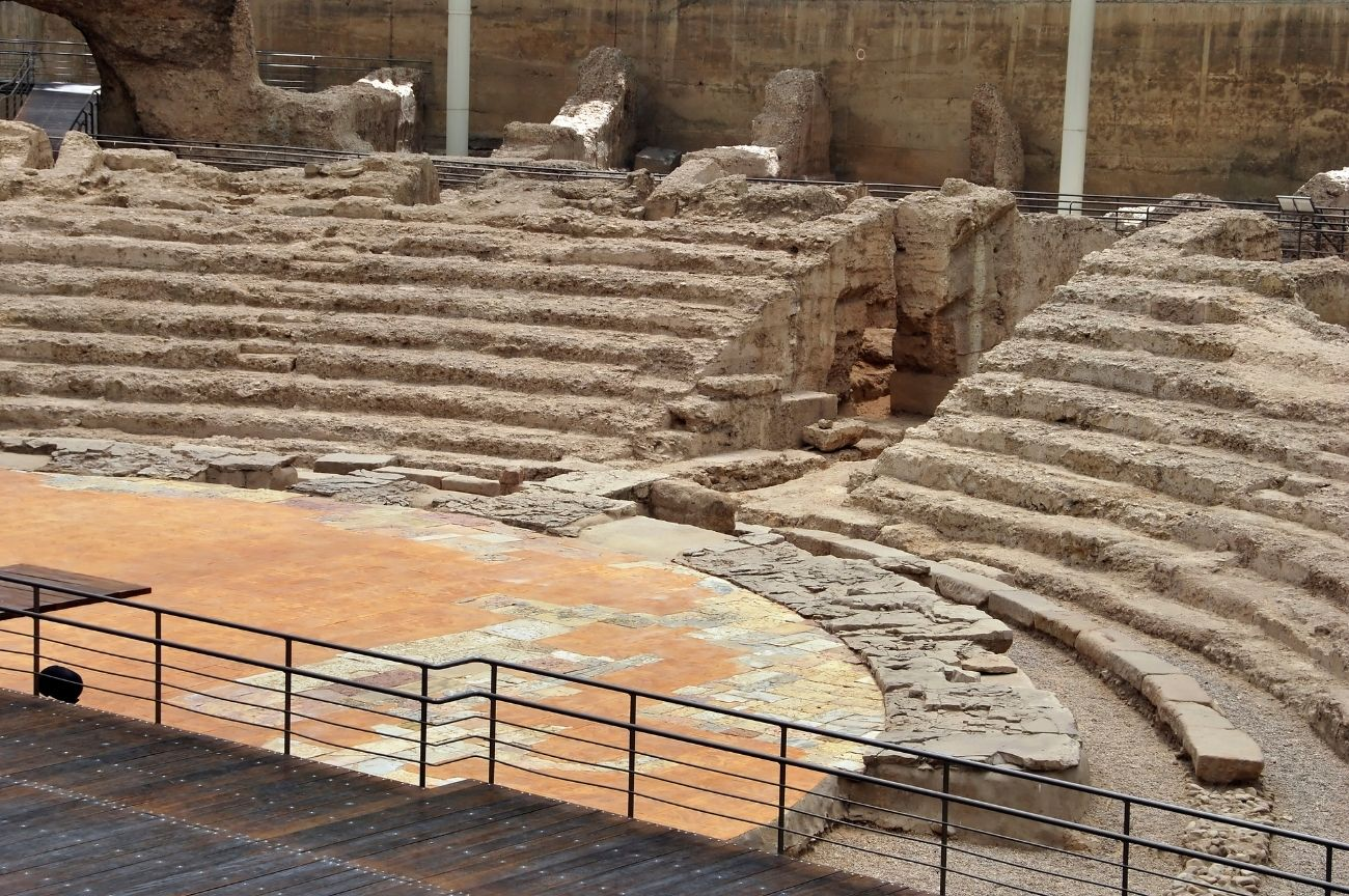Ruinas romanas Zaragoza