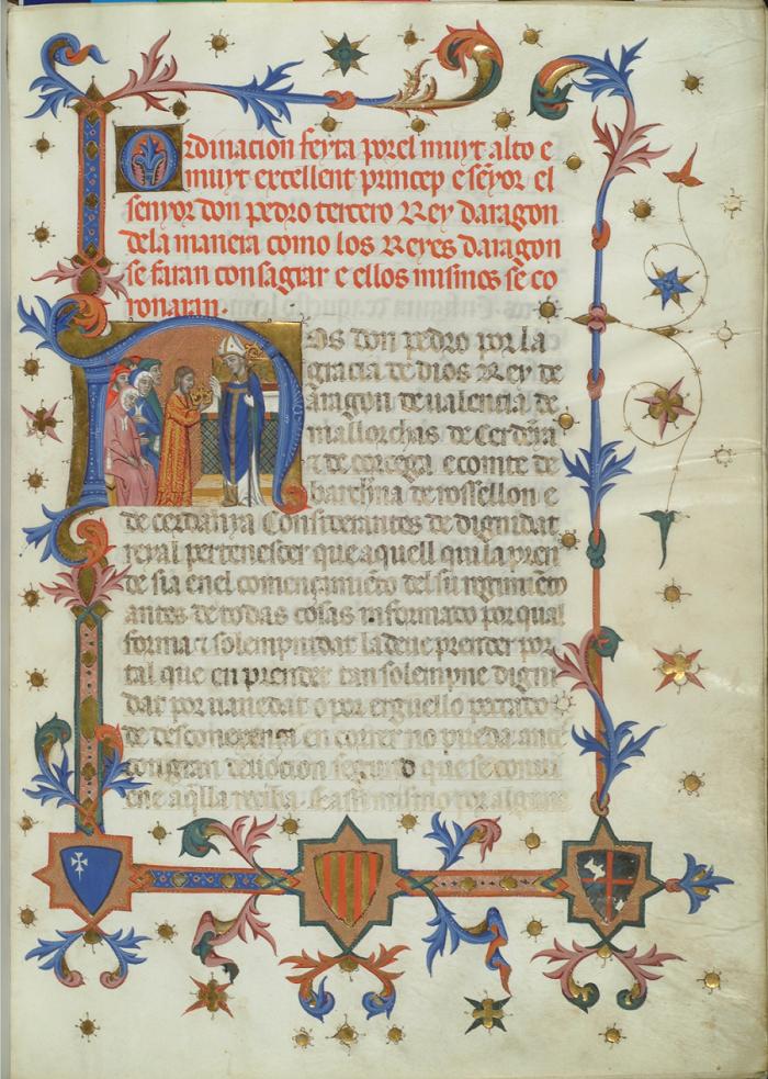 Coronación de los Reyes de Aragón