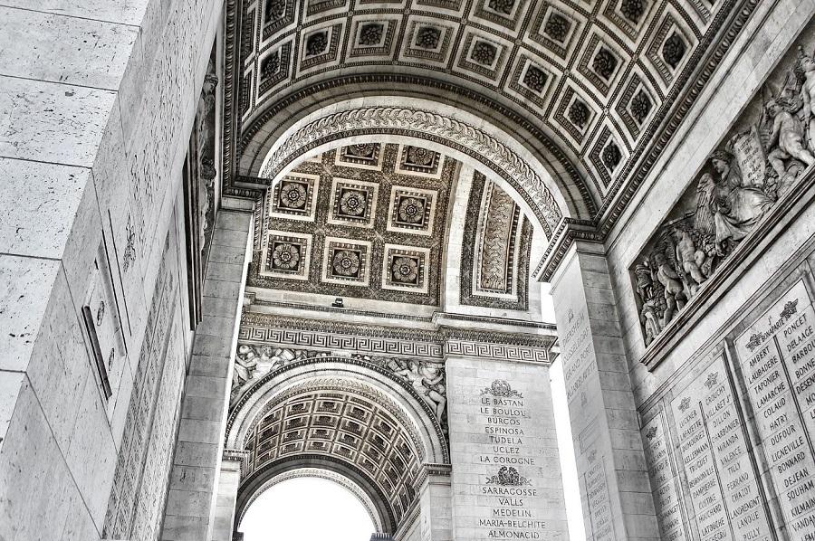 arco de triunfo París